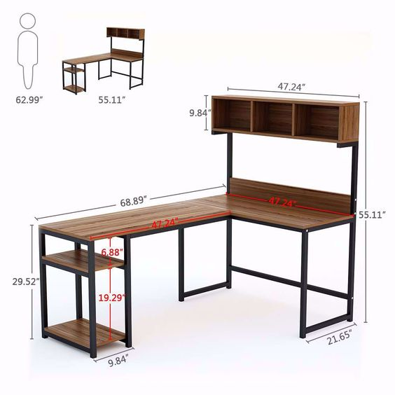 ArtSteel Norge Desk Table 017